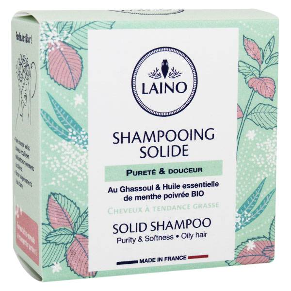 Laino Shampooing Solide Cheveux Gras 60g