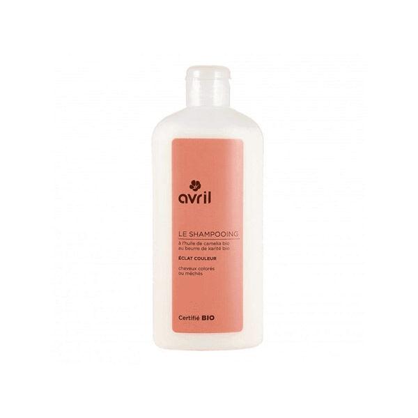 Avril Shampooing Éclat Couleur Cheveux Colorés ou Méchés Bio 250ml