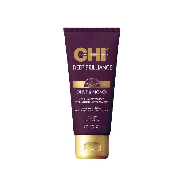 Chi Deep Brilliance Masque Protéiné à l'Olive et au Monoï 237ml