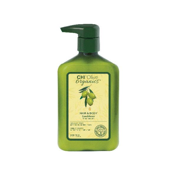 Chi Olive Organics Après-Shampooing Cheveux & Corps 340ml