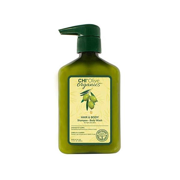 Chi Olive Organics Shampooing Cheveux et Corps 340ml