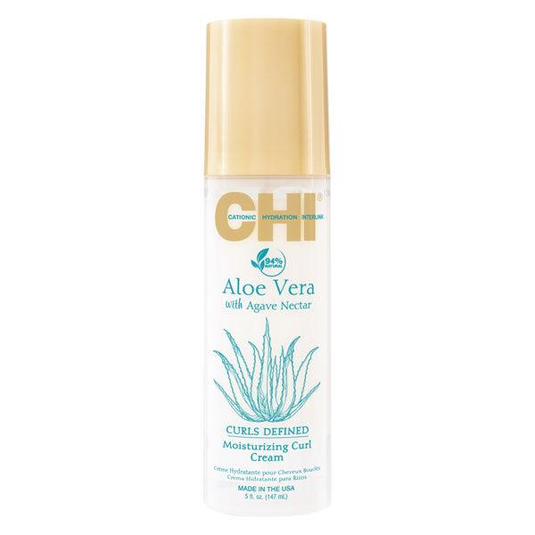 Chi Aloe Vera Curls Defined Crème Hydratante Cheveux Bouclés 147ml