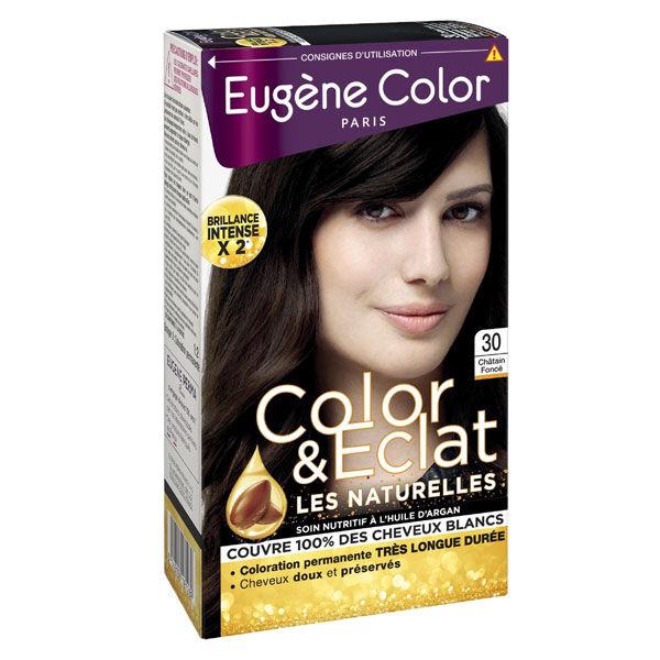 Eugène Color Les Naturelles Crème Colorante Permanente n°30 Châtain Foncé