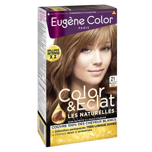 Eugène Color Les Naturelles Crème Colorante Permanente n°21 Blond Clair Cuivré