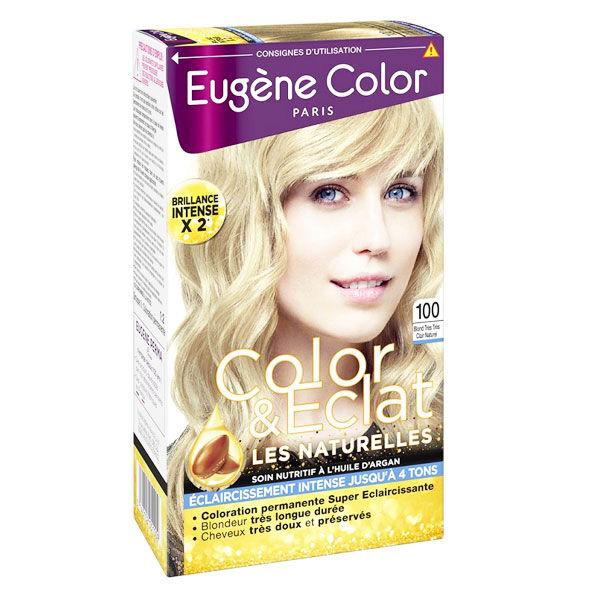 Eugène Color Les Naturelles Crème Colorante Permanente n°100 Blond Très Très Clair Naturel
