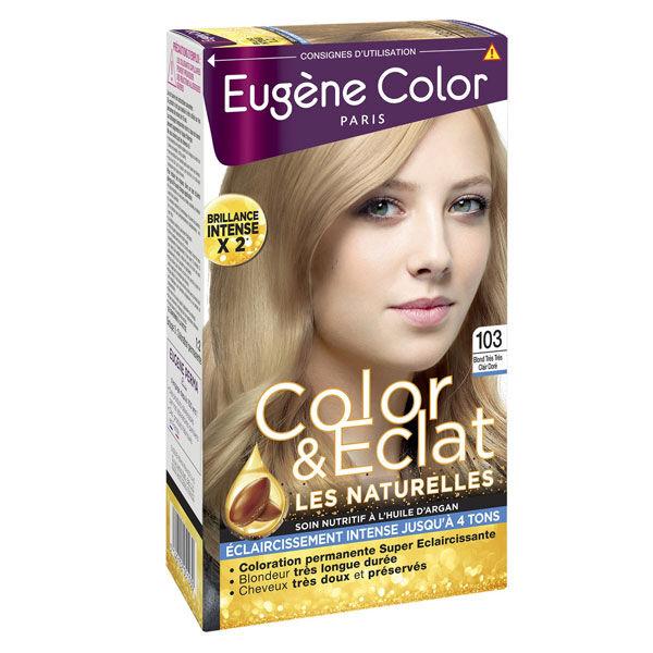 Eugène Color Les Naturelles Crème Colorante Permanente n°103 Blond Très Très Clair Doré