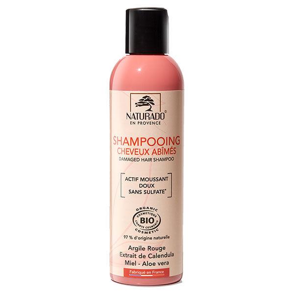 Naturado en Provence Naturado Shampooing Cheveux Abimés Bio 200ml