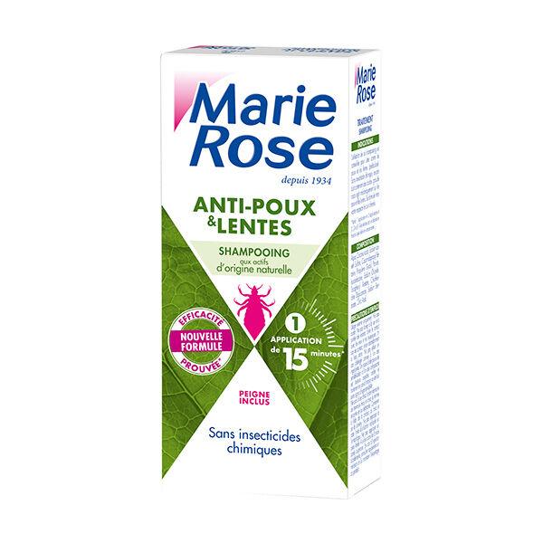 Marie Rose Shampooing Anti-Poux et Lentes Actifs Naturels 125ml