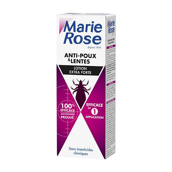 Marie Rose Lotion Anti-Poux Extra Forte 100ml