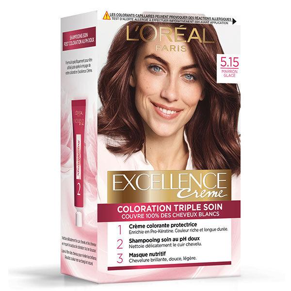 L'Oréal Paris L'Oréal Excellence Crème Coloration Marron Glacé 5.15