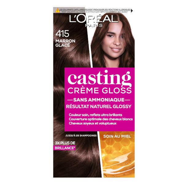 L'Oréal Paris L'Oréal Casting Crème Gloss Coloration Marron Glacé 415