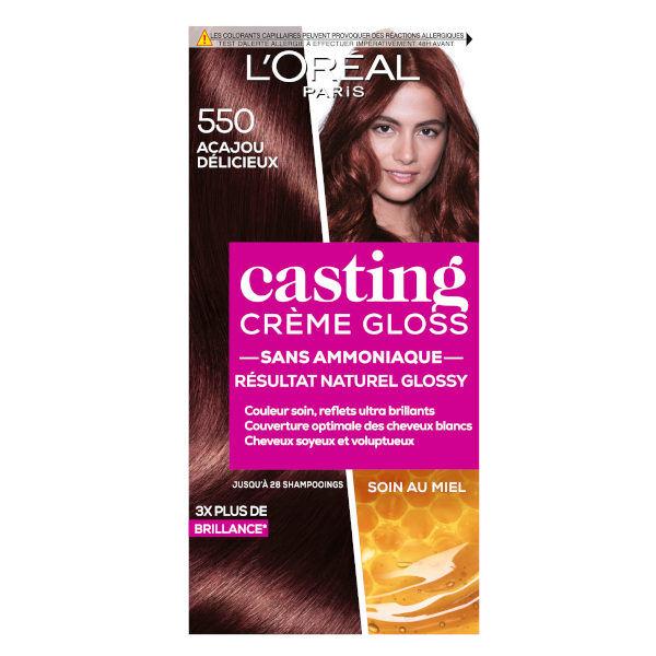 L'Oréal Paris L'Oréal Casting Crème Gloss Coloration Acajou Délicieux 550
