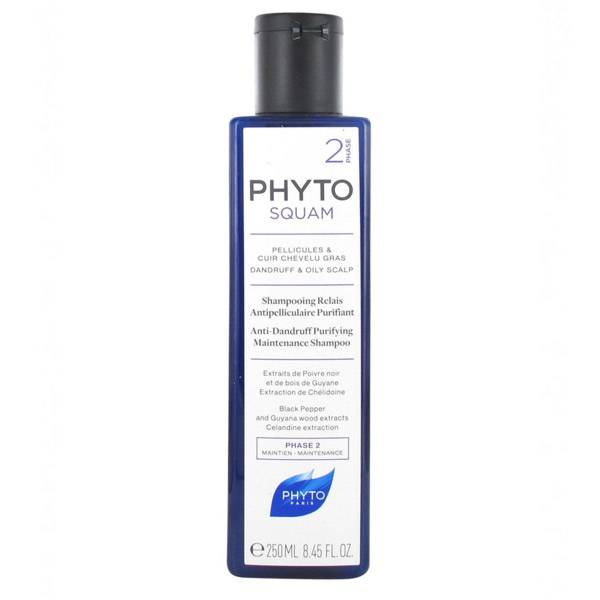 Phyto PhytoSquam Phase 2 Shampooing Relais Antipelliculaire Purifiant 250ml