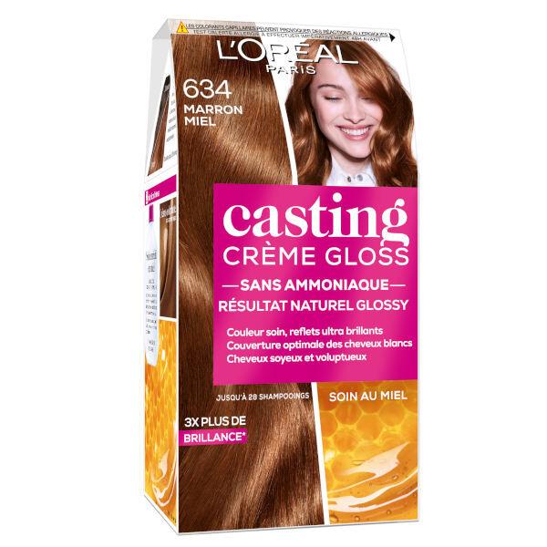 L'Oréal Paris L'Oréal Casting Crème Gloss Coloration Marron Miel 634