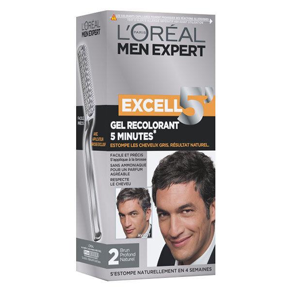 L'Oréal Paris L'Oréal Excell 5 Coloration Homme N°2 Brun Profond Naturel