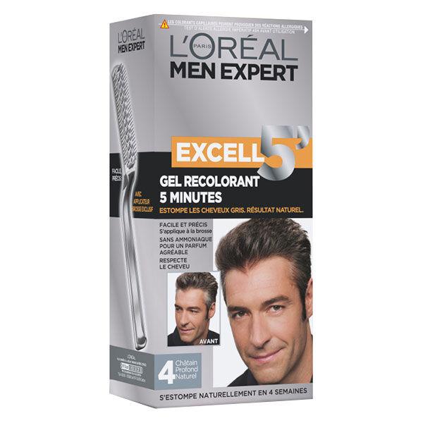 L'Oréal Paris L'Oréal Excell 5 Coloration Homme N°4 Châtain Profond Naturel