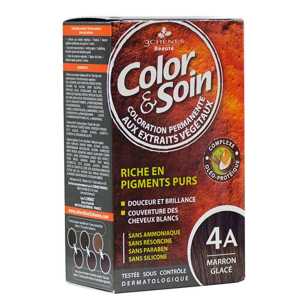 Les 3 Chênes Color & Soin Marron Glacé 4A