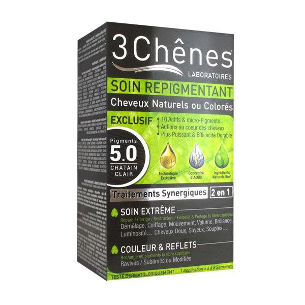 Les 3 Chênes Soin Repigmentant Châtain Clair 5.0