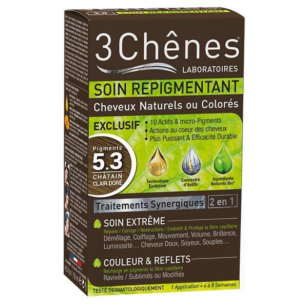 Les 3 Chenes Les 3 Chênes Soin Repigmentant Châtain Clair Doré 5.3