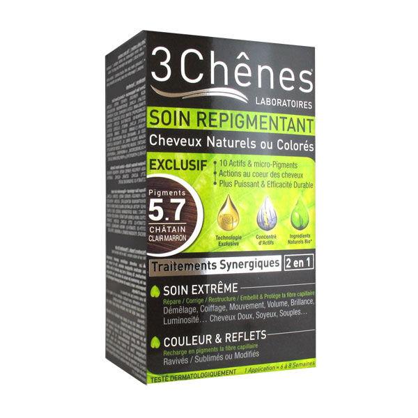 Les 3 Chenes Les 3 Chênes Soin Repigmentant Châtain Clair Marron 5.7