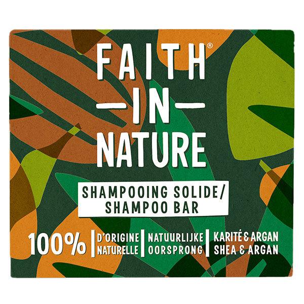 Faith In Nature Shampooing Solide Karité & Argan 85g