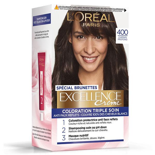 L'Oréal Paris L'Oréal Excellence Coloration Brunettes Châtain Profond 400