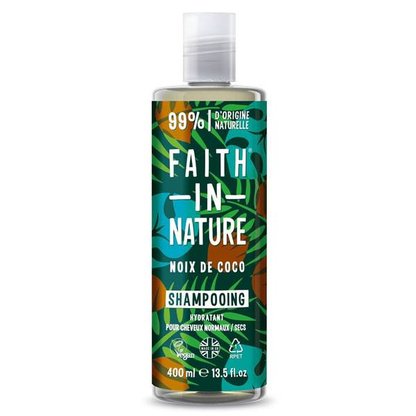 Faith In Nature Shampooing Noix de Coco 400ml