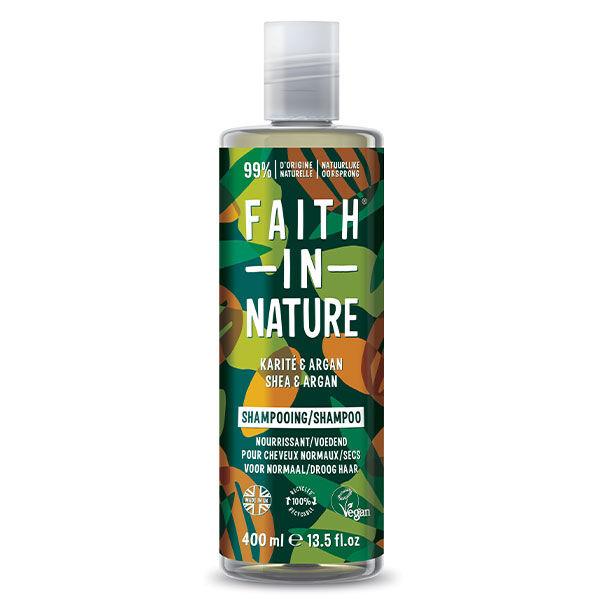 Faith In Nature Shampooing Karité & Argan 400ml