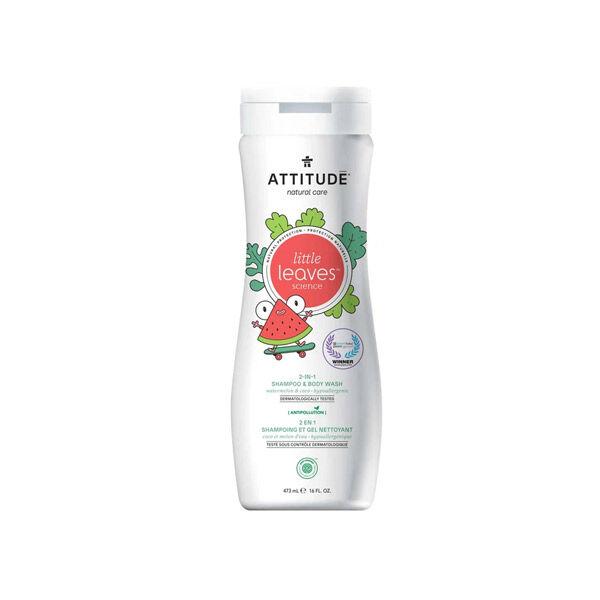 Attitude Little Leaves Shampooing Gel Nettoyant Coco et Melon d'Eau 473ml