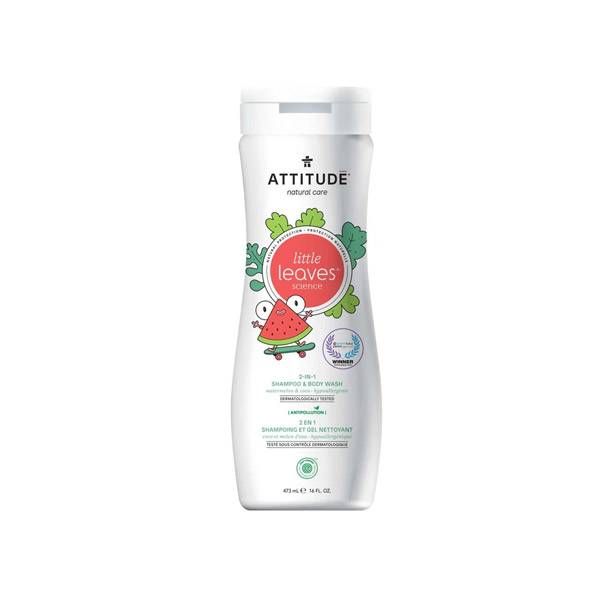 Attitude Little Leaves Shampoing 2en1 Coco et Melon d'Eau