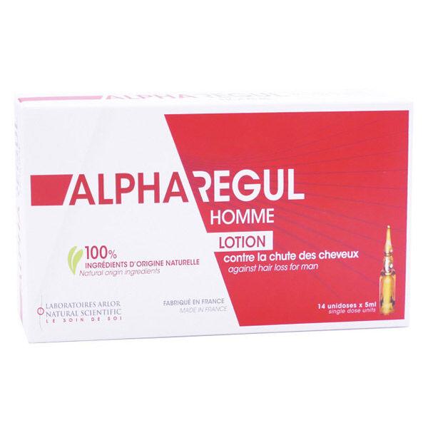 Arlor Alpharegul Lotion Anti-Chute Homme 14 unidoses