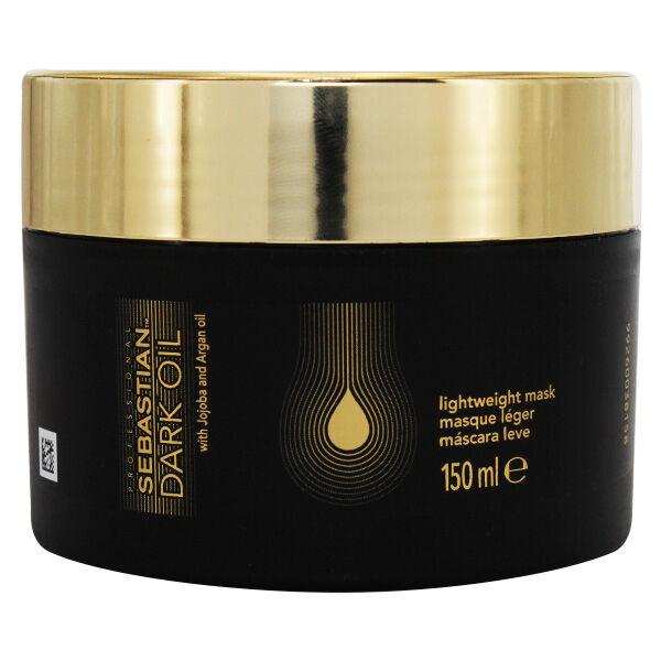 Sebastian Professional Masque Dark Oil Léger Huile Jojoba Argan 150ml