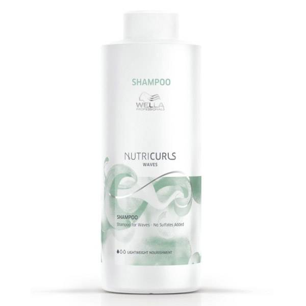 Wella Professionals Nutricurls Waves Shampooing Cheveux Ondulés 1L