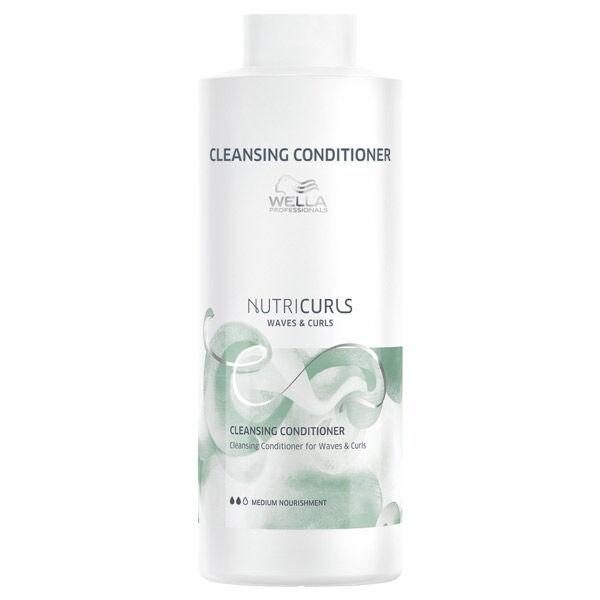 Wella Professionals Nutricurls Après-Shampooing Lavant Cheveux Ondulés & Bouclés 1L