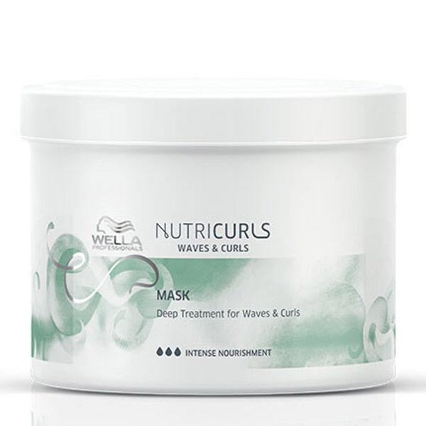 Wella Professionals Nutricurls Soin Profond Cheveux Ondulés et Bouclés 500ml