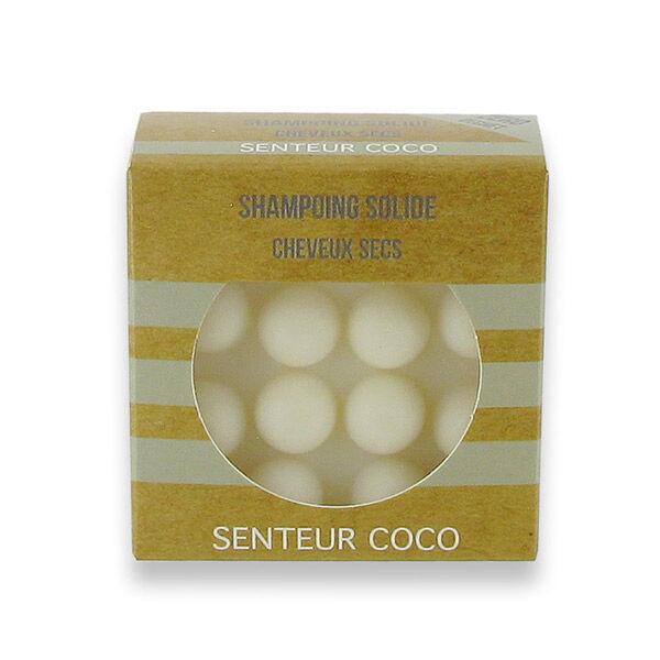 Valdispharm Shampooing Solide Cheveux Secs Parfum Coco 55g