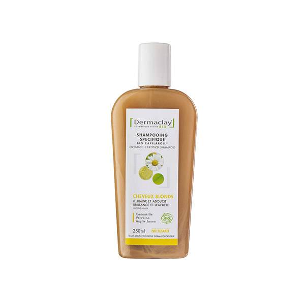 Dermaclay Shampooing Bio Cheveux Blonds 250ml