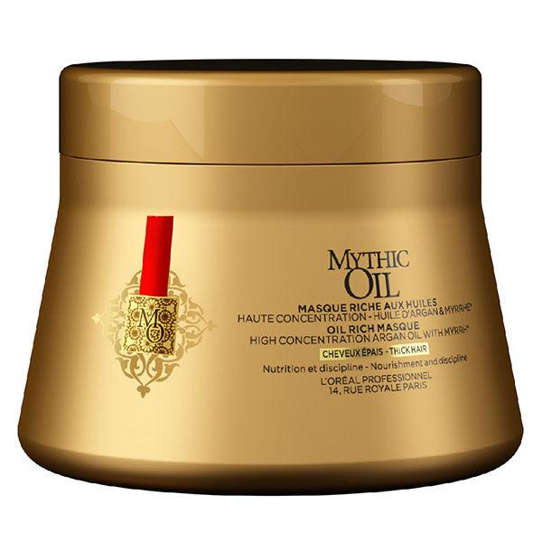 L'Oréal Professionnel Mythic Oil Masque aux Huiles Cheveux Epais 200ml