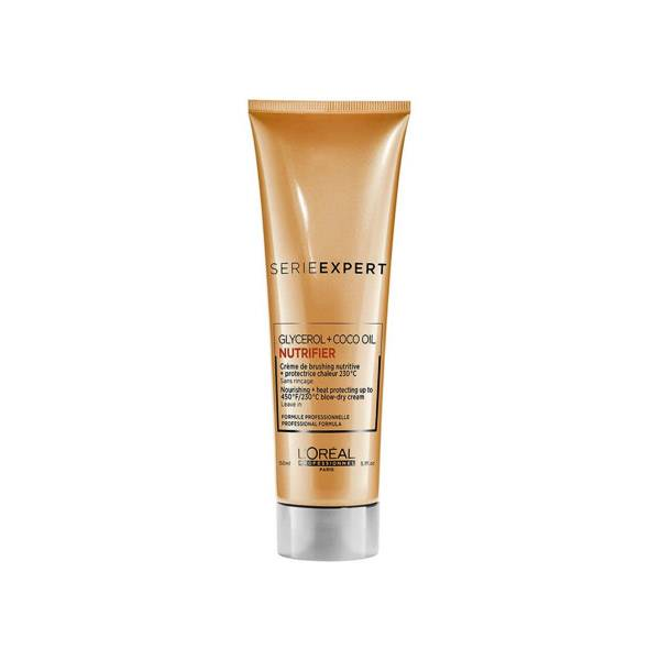 L'Oreal Care & Styling L'Oréal Serie Expert Nutrifier Crème de Brushing Nutrivive Protection Chaleur 150ml