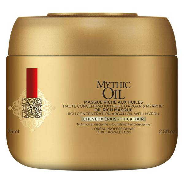L'Oréal Professionnel Mythic Oil Masque aux Huiles Cheveux Epais 75ml