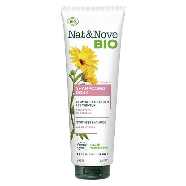Nat&Nove Bio Nat&Nove; Bio Shampooing Doux Calendula 250ml