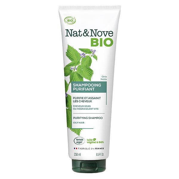Nat&Nove Bio Nat&Nove; Bio Shampooing Purifiant Ortie 250ml