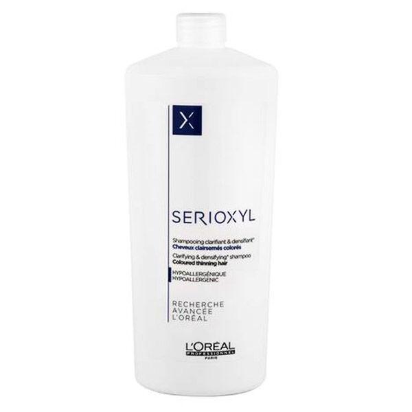 L'Oréal Serioxyl X Shampooing Cheveux Colorés 1L