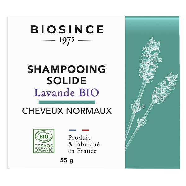 Gravier Biosince 1975 Shampooing Solide Cheveux Normaux Lavande Bio 55g