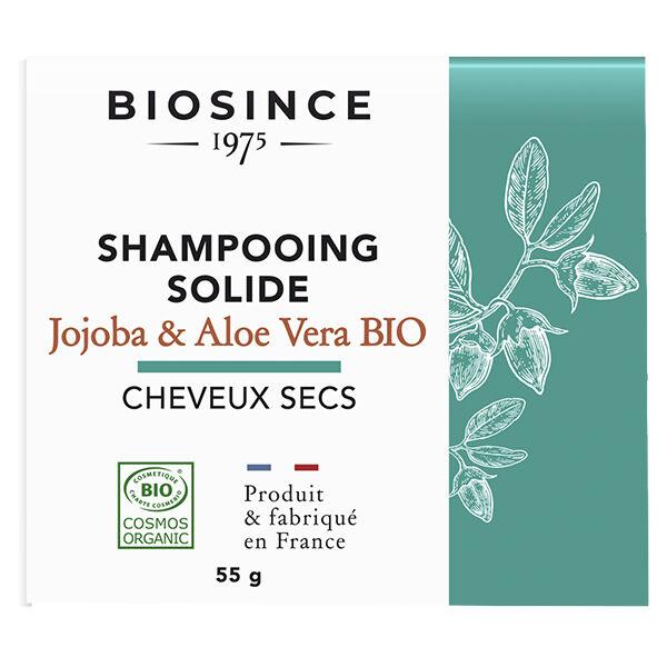 Gravier Biosince 1975 Shampooing Solide Cheveux Secs Jojoba & Aloé Vera Bio 55g
