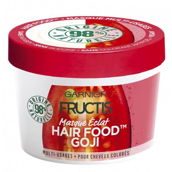 Garnier Fructis Hair Food Masque Eclat Goji 390ml