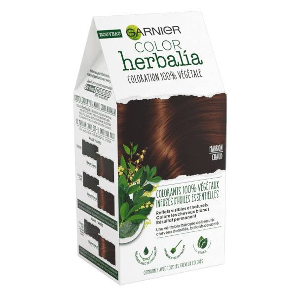Herbalia Garnier Color Herbalia Coloration 100% Végétale Marron Chaud