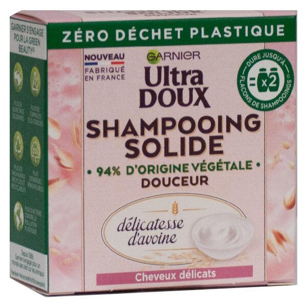 Garnier Ultra Doux Shampooing Solide Douceur Délicatesse d'Avoine 60g