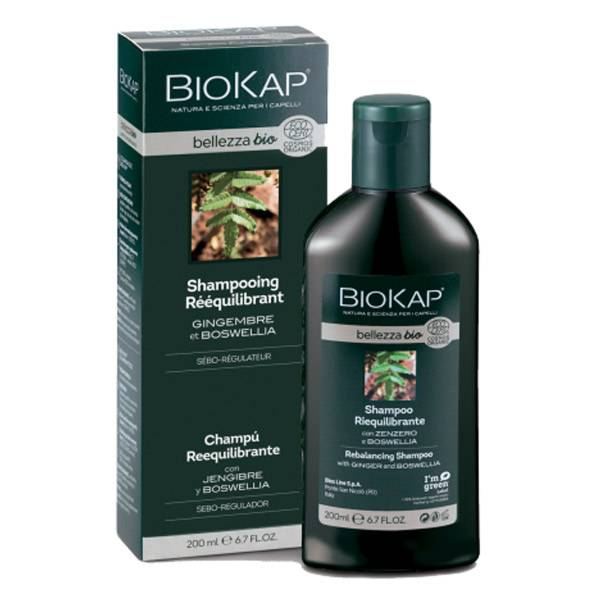 Biokap Shampooing Rééquilibrant Bio 200ml