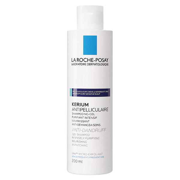 La Roche Posay Kerium Shampooing Antipelliculaire Cheveux Gras 200ml